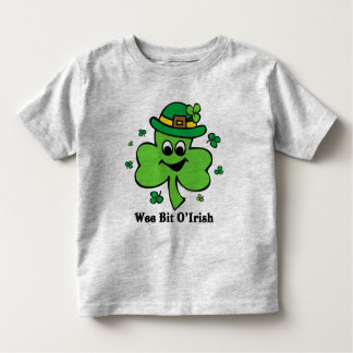 Wee Bit O' Irish Toddler T-shirt
