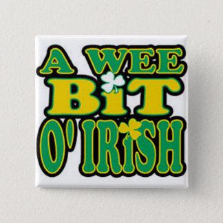 Wee bit O'Irish button