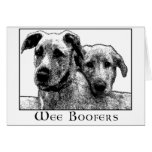 Wee Boofers Greeting Cards