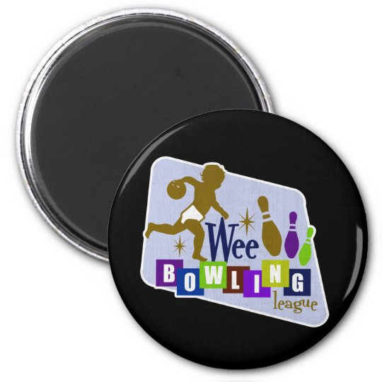 Wee Bowling League Magnet