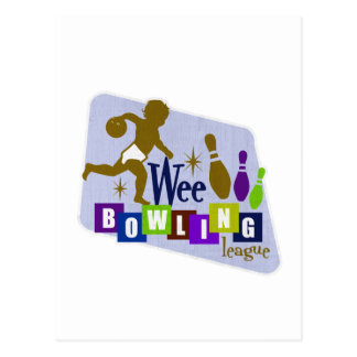Wee Bowling League Post Card