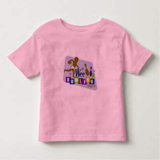 Wee Bowling League Toddler T-shirt