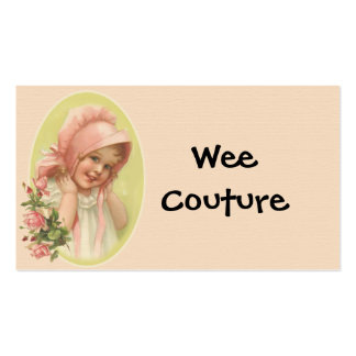 Wee Couture Children s Wear Business Card