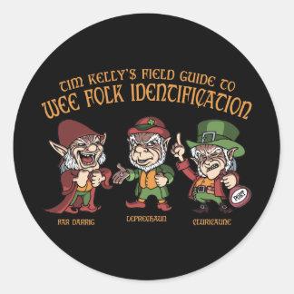 Wee Folk ID Stickers