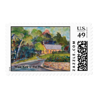 Wee Kirk o' the Heather Postage Stamp