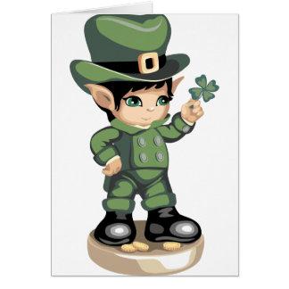 Wee Leprechaun Card