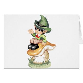 Wee Lil Leprechaun Card