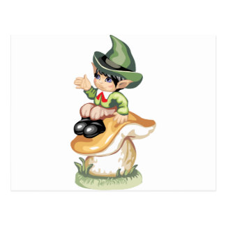Wee Lil Leprechaun Postcard