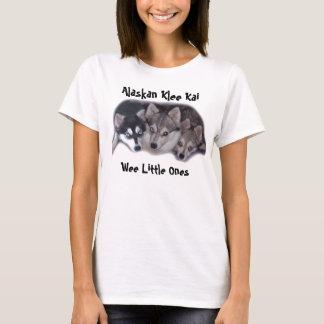 Wee Little Ones, Alaskan Klee Kai T-Shirt