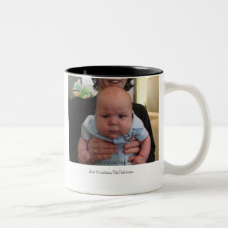 Wee man attitude. Two-Tone coffee mug