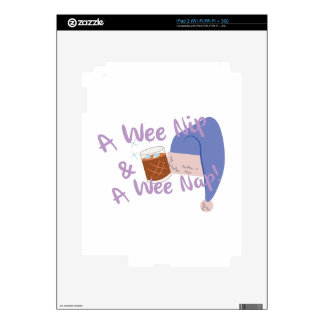 Wee Nap Decals For iPad 2