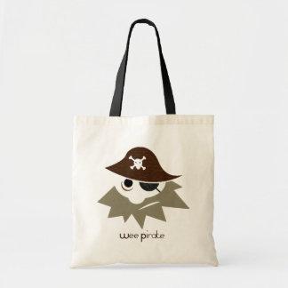 Wee Pirate CUTE Diaper or Tote Budget Tote Bag