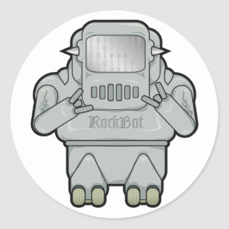 Wee RockBot Sticker