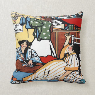 Wee Sma' Hours by Sadie Wendell Mitchell 1909 Pillow
