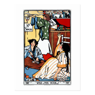 Wee Sma' Hours by Sadie Wendell Mitchell 1909 Postcard