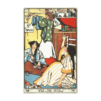 Wee Small Hours 1909 Stretched Canvas Prints