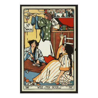 Wee Small Hours 1909 Print
