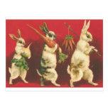 Wee tres conejos postales