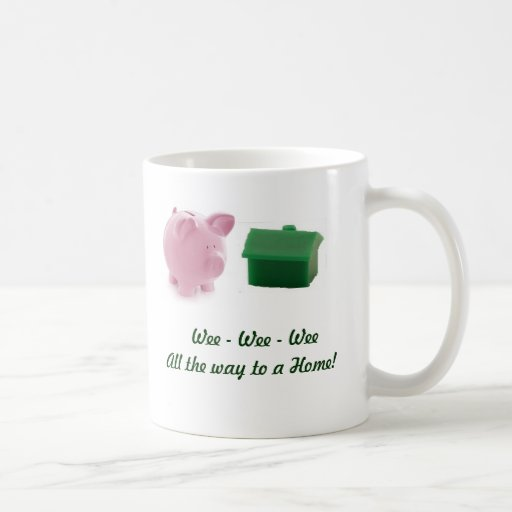 Wee wee wee mug