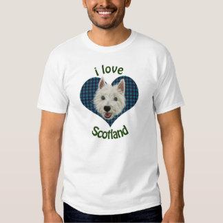 Wee Westie, I Love Scotland Tee Shirt