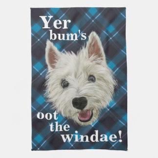 Wee Westie's Words of Wisdom! Hand Towel