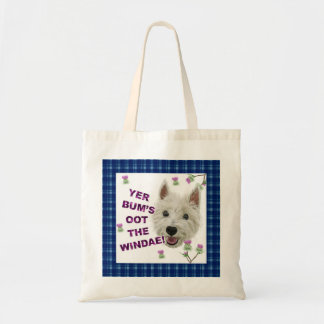 Wee Westie's Words of Wisdom Tote Bag