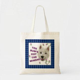 Wee Westie's Words of Wisdom Tote Bag