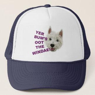 Wee Westie's Words of Wisdom Trucker Hat