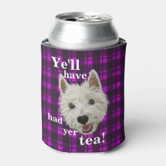 Wee Westie. Scottish Wisdom! Can Cooler