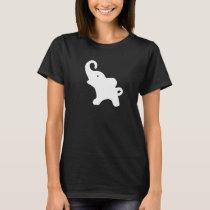 Wee White Elephant 2 T-Shirt