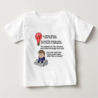 Wee Willie Winkie Baby T-Shirt