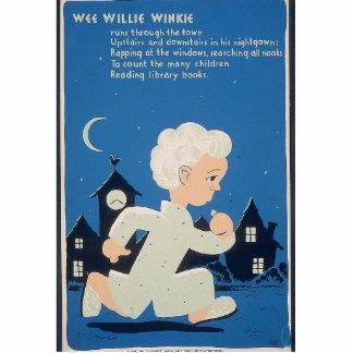 Wee Willie Winkie Statuette