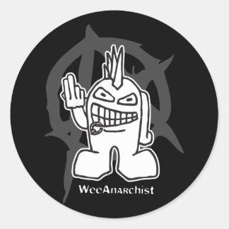 WeeAnarchist Sticker