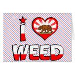 Weed, CA Greeting Card
