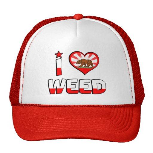 Weed, CA Mesh Hats