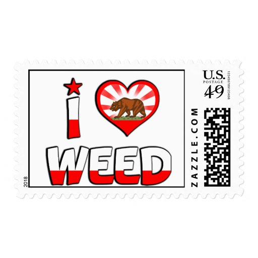 Weed, CA Postage Stamp