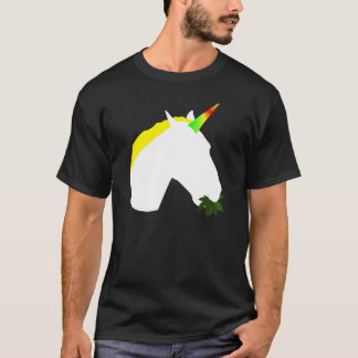 Weed eating unicorn T-Shirt