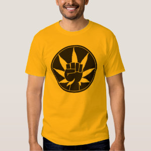Weed Fist T-shirts