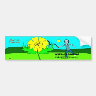 Weed Flogger Bumper Sticker!
