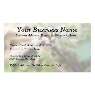Weed Flower - Bittercress Business Card