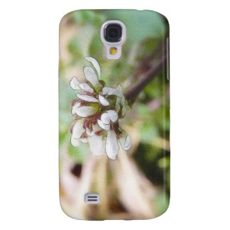 Weed Flower - Bittercress Galaxy S4 Covers