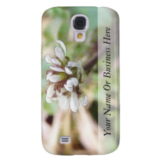 Weed Flower - Bittercress Galaxy S4 Cases