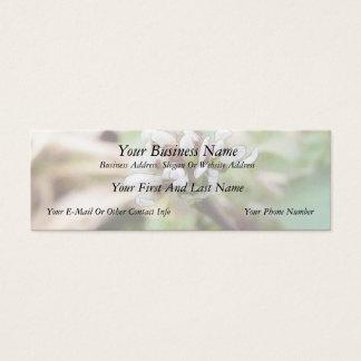 Weed Flower - Bittercress Mini Business Card