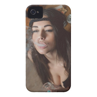 Weed Girl iPhone 4 Cover