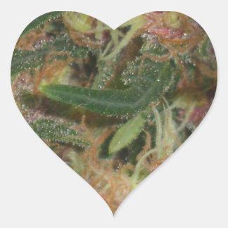 Weed Heart Sticker