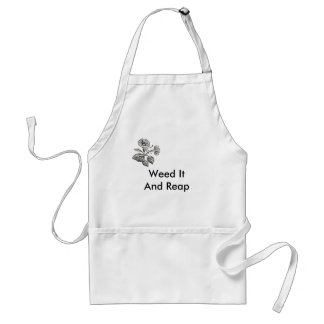 Weed It And Reap Adult Apron