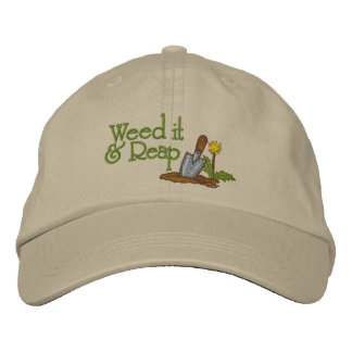 Weed It Embroidered Hat