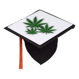 Weed Leaf Graduation Cap Topper