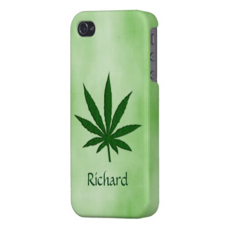 Weed Leaf iPhone 4/4S Cover