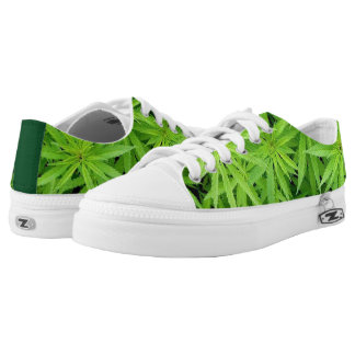Weed Low-top Sneakers